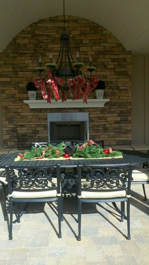Fireplace and Firepit #015 by Paradise Environments