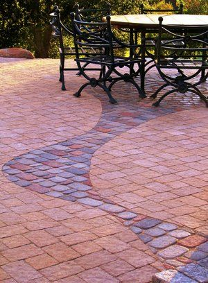 Paver Decks and Driveway #005 by Paradise Environments