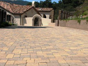 Paver Decks and Driveway #007 by Paradise Environments