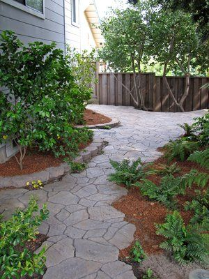 Another version of the manufactured flagstone pavers.