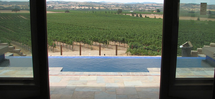 A vanishing edge pool can go anywhere...
