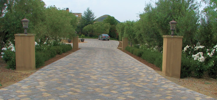 We can make your driveway beautiful too...